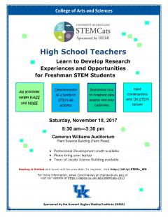 stem cats event